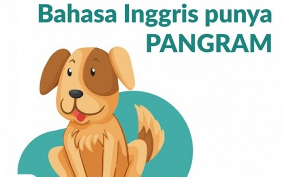 Bahasa Inggris Punya Pangram