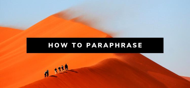 Cara Hindari Plagiat, Belajar Parafrase Yuk