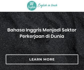Bahasa Inggris Menjadi Sektor Perkerjaan di Dunia